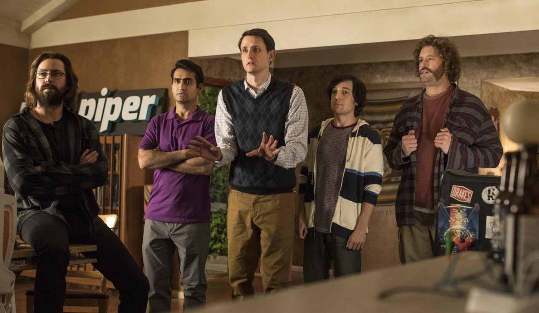 Ekipa Pied Piperja v seriji Silicijeva dolina (Silicon Valley)