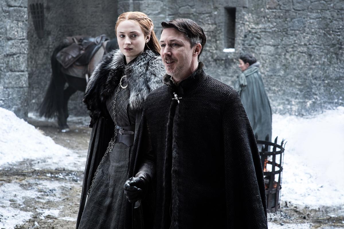 Sansa in Mezinček v Igri prestolov.