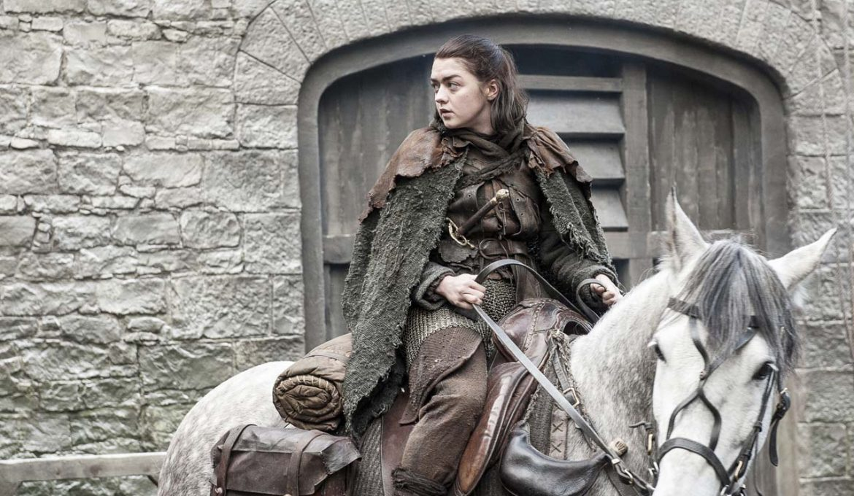 Igra prestolov: Nevihtnorojena; Arya na konju