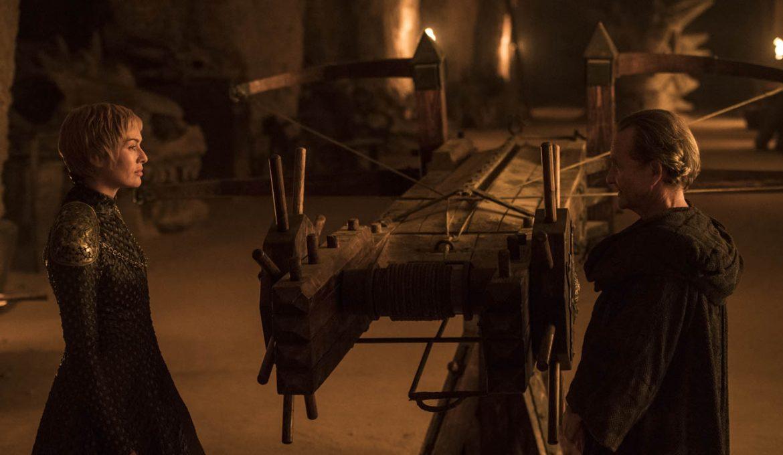 Cersei in Qyburn v seriji Igra prestolov: Kraljičina pravica