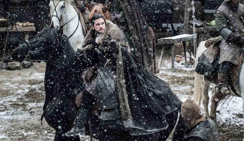 Jon Sneg v seriji Igra prestolov
