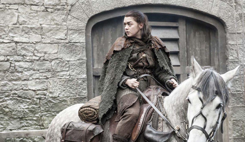 Igra prestolov: Arya na konju