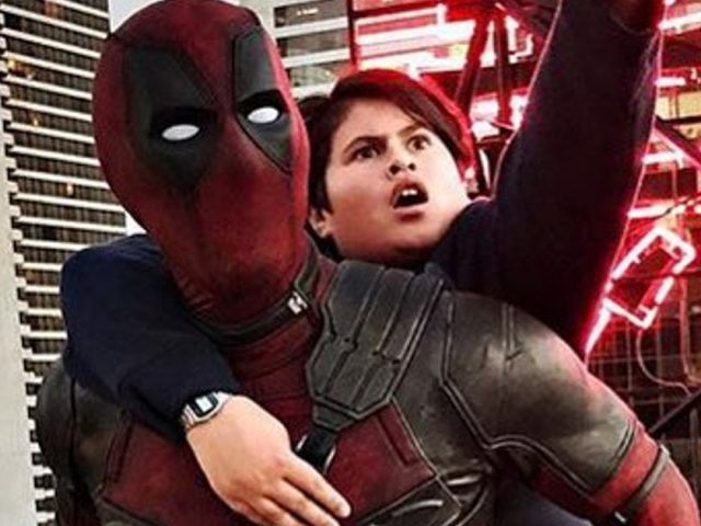 Julian Dennison in Ryan Reynolds v filmu Deadpool 2