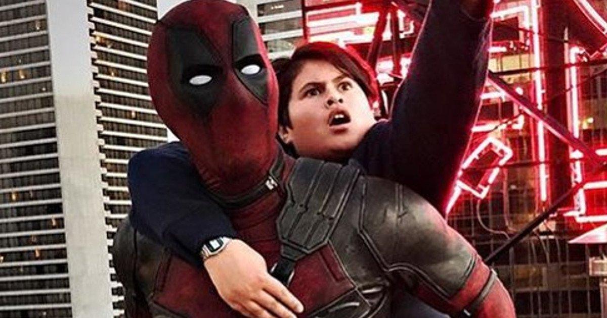 Julian Dennison in Ryan Reynolds v filmu Deadpool 2