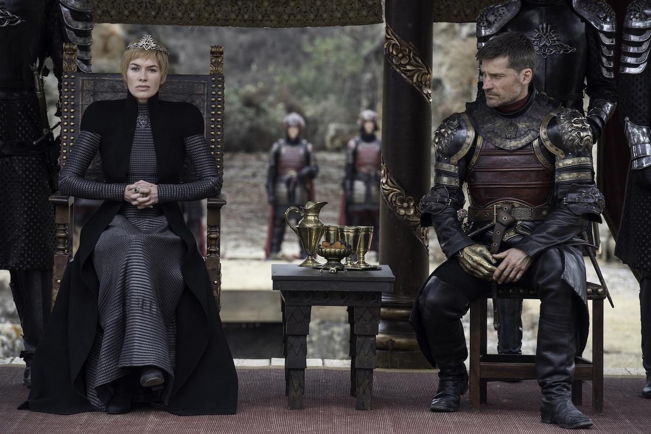 Cersie (Lena Headey) in Jaime (Nikolaj Coster-Waldau) v sedmem delu sedme sezone Igre prestolov.