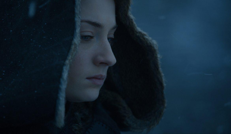 Sansa (Sophie Turner) v sedmem delu sedme sezone serije Igra prestolov.