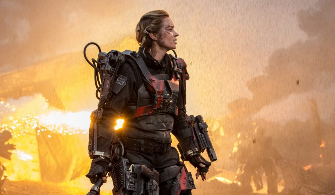 Emily Blunt v filmu Na robu jutrišnjega dne (Edge of Tomorrow)