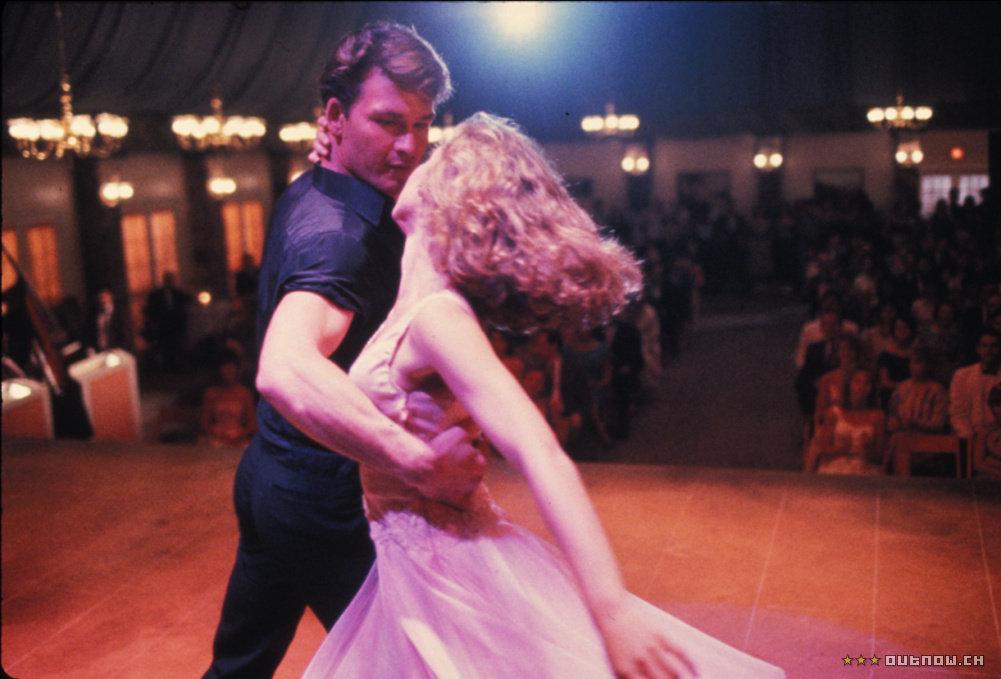 Jennifer Grey in Patrick Swayze v filmu Umazani ples (Dirty Dancing)