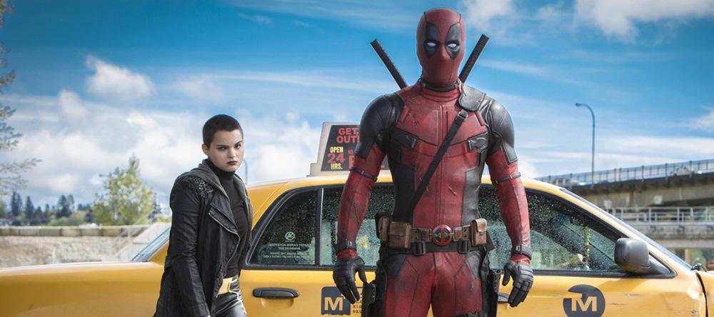 Deadpool pred taksijem