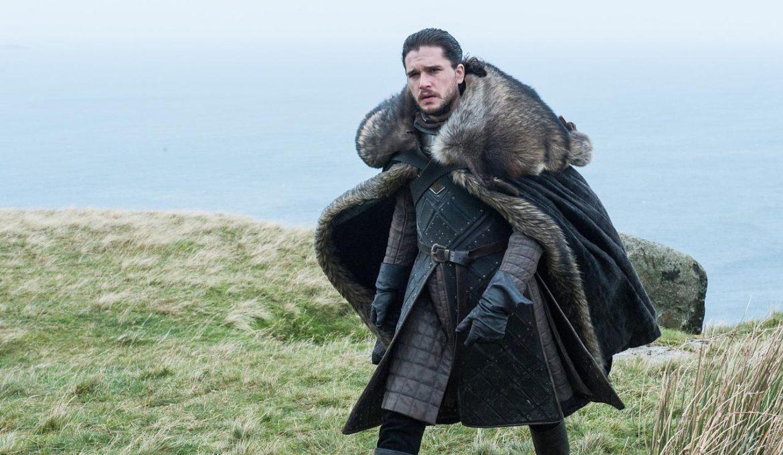 jon sneg v seriji igra prestolov v epizodi vzhodna straža