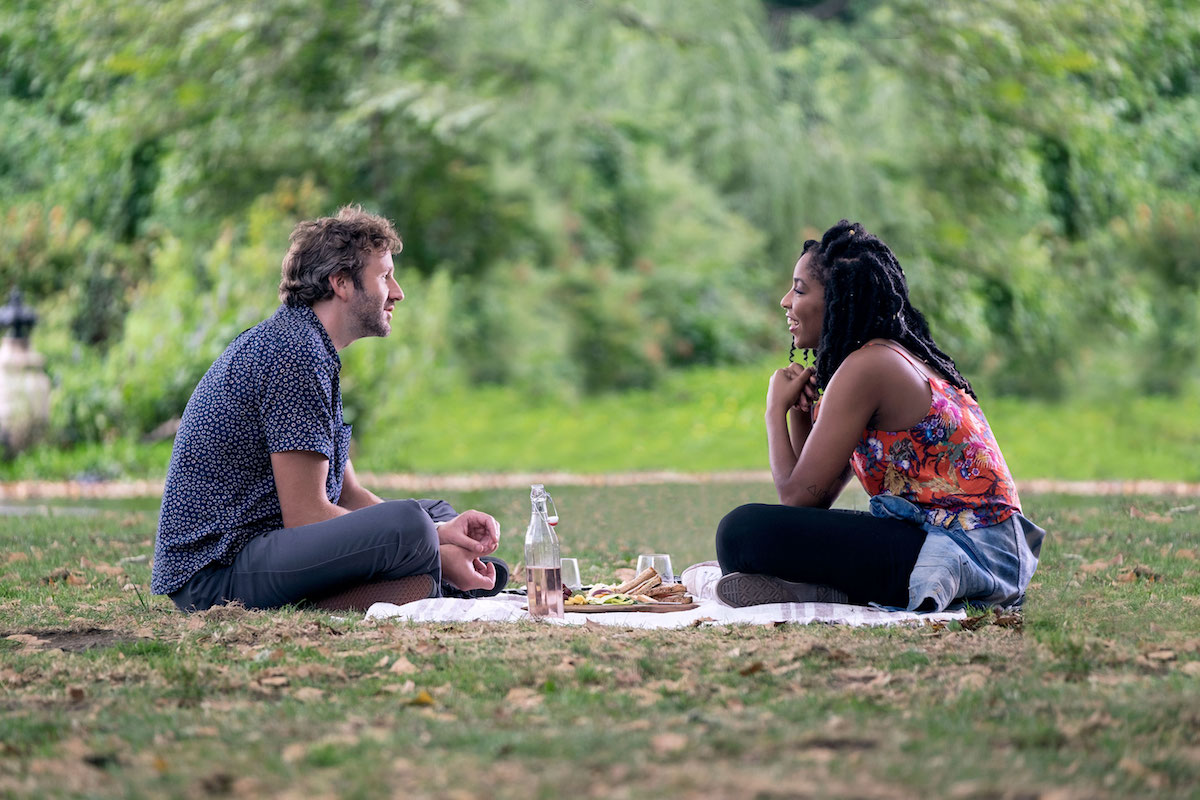 Jessica Williams in Chris O'Dowd v filmu The Incredible Jessica James.