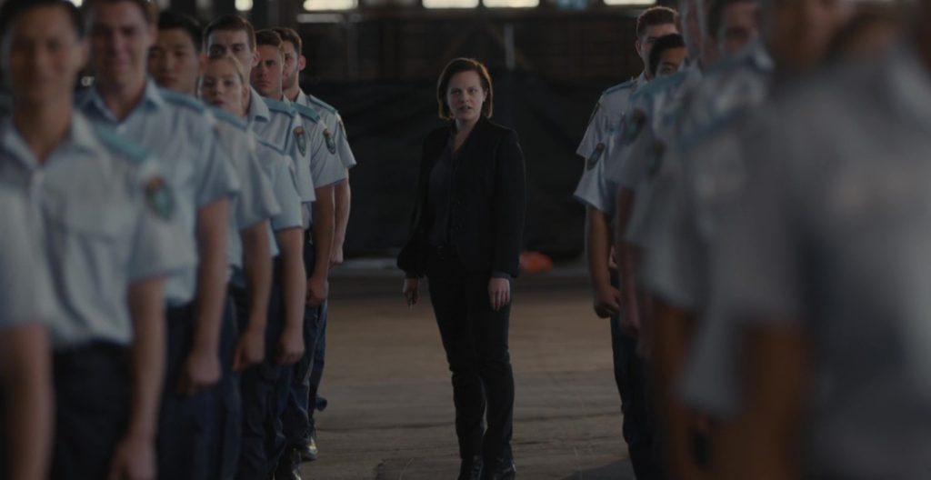Elizabeth Moss v seriji Skrivnost jezera.