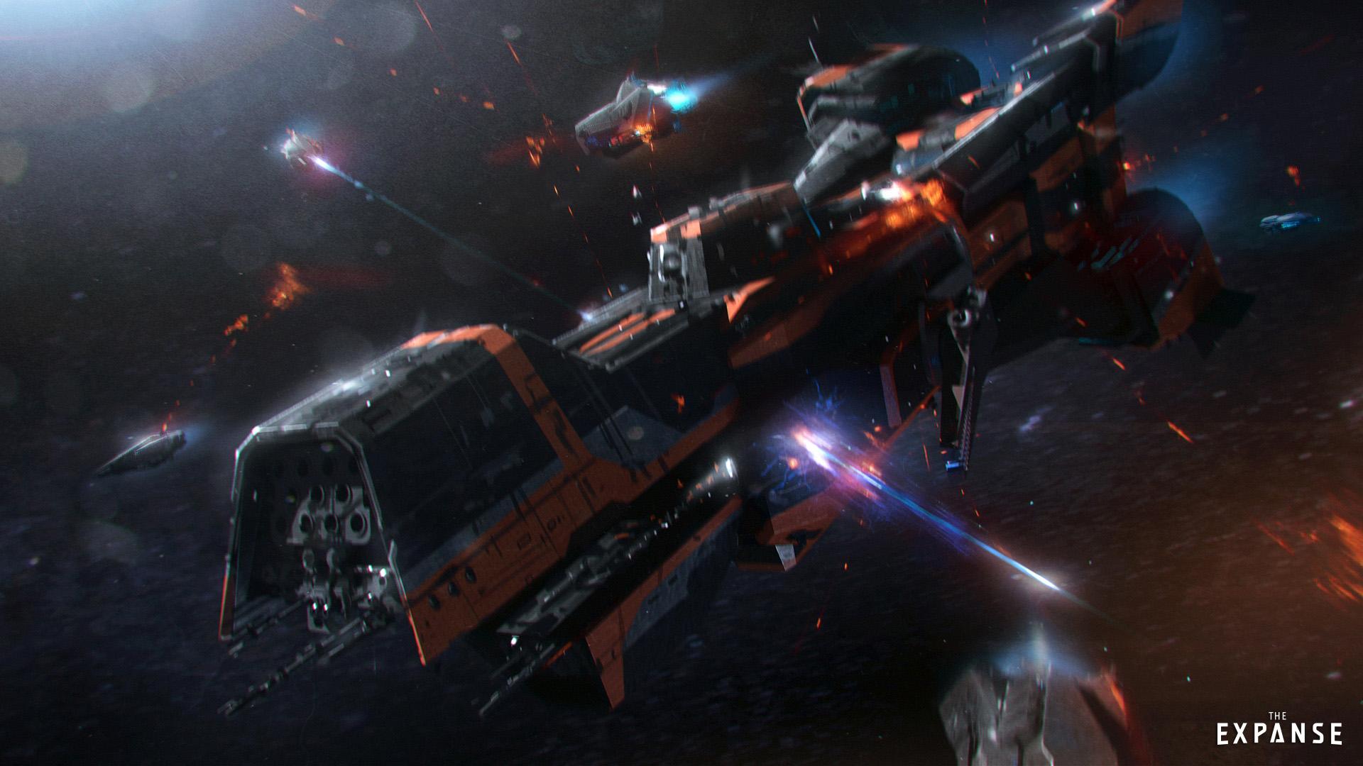 Usoda vesoljske ladje Donnager v seriji Prostranstvo (The Expanse)