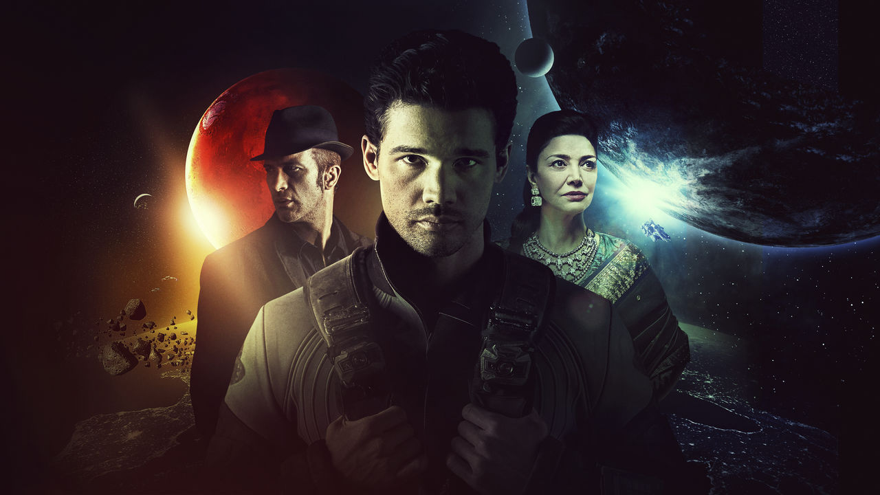 Glavni junaki serije Prostranstvo (The Expanse) kapitan vesoljske ladje, kriminalist in političarka