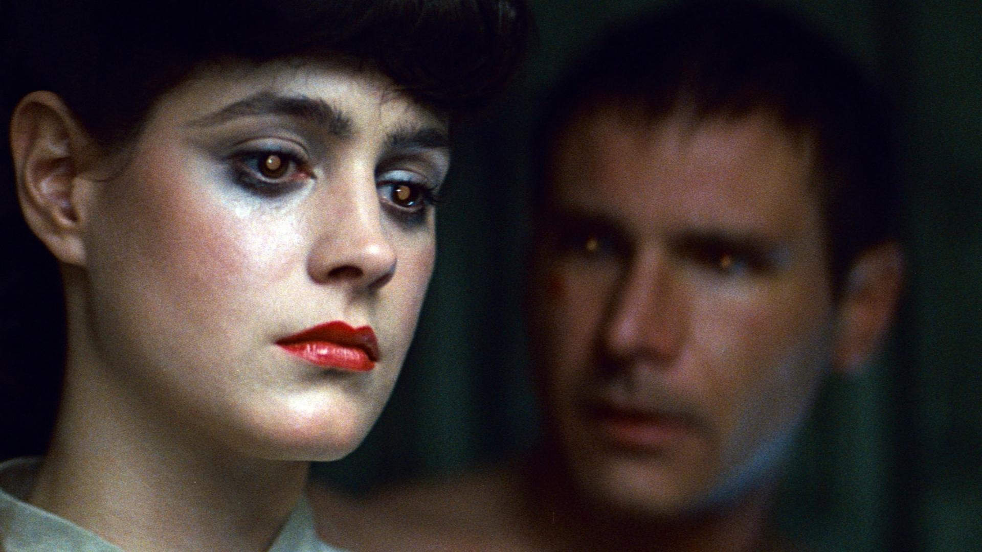Replikantka Rachel v filmu iztrebljevalec Blade Runner