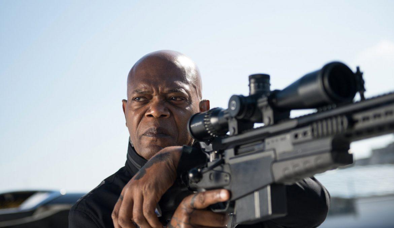 Samuel L. Jackson v filmu Krij mi hrbet