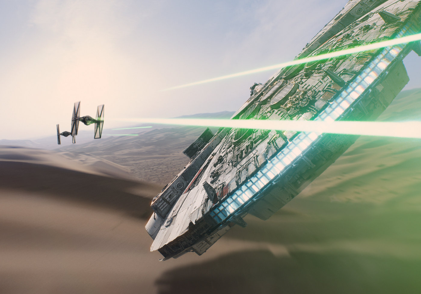Scena iz filma Star Wars: The Force Awakens.