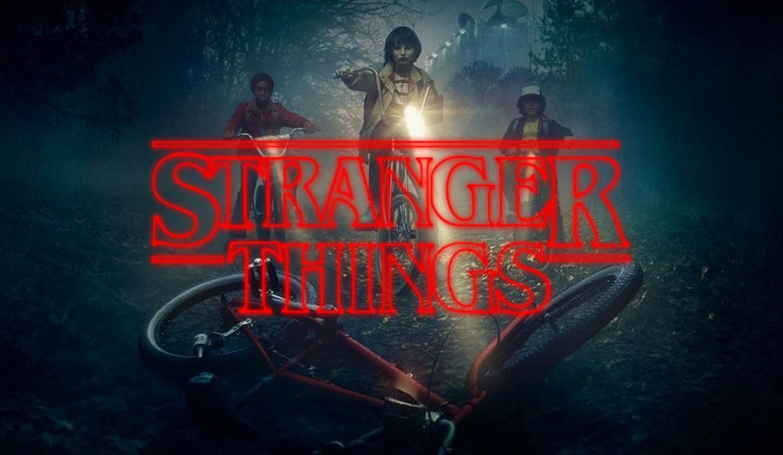 Plakat serije Čudne stvari Stranger Things
