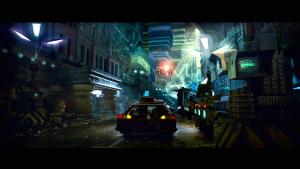 Scena iz filma Blade Runner.