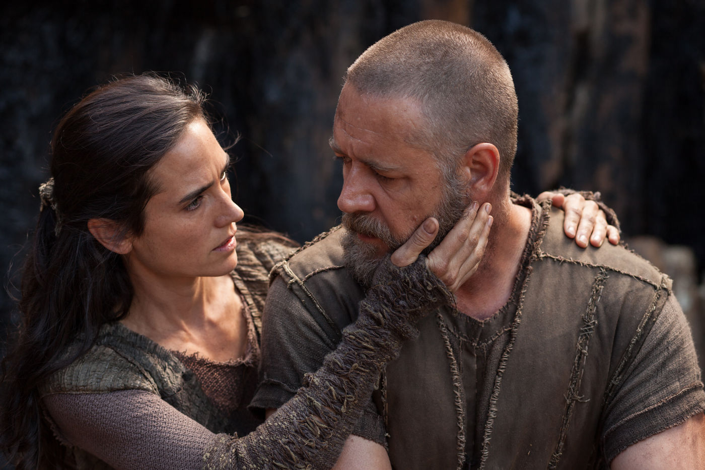 jennifer connely in russell crowe v filmu noe (noah)