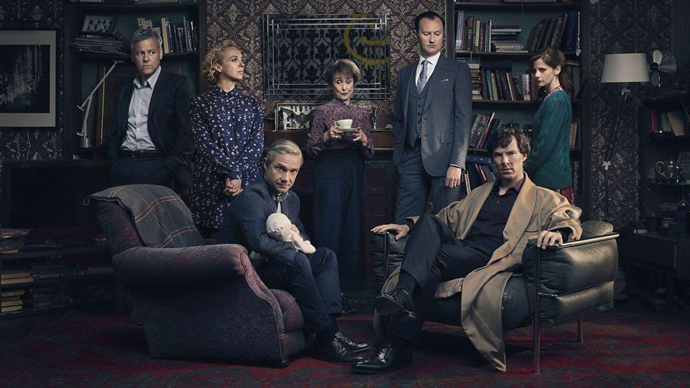 Scena iz serije Sherlock.