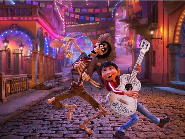Scena iz filma Koko in velika skrivnost (Coco)