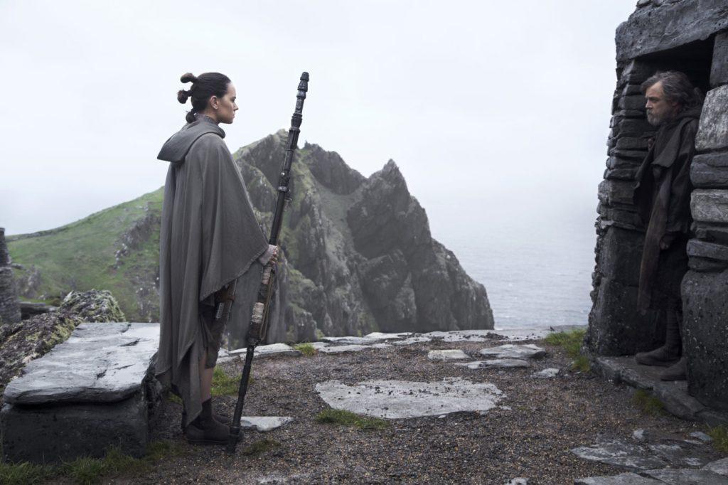 Scena iz filma Vojna zvezd: Poslednji Jedi