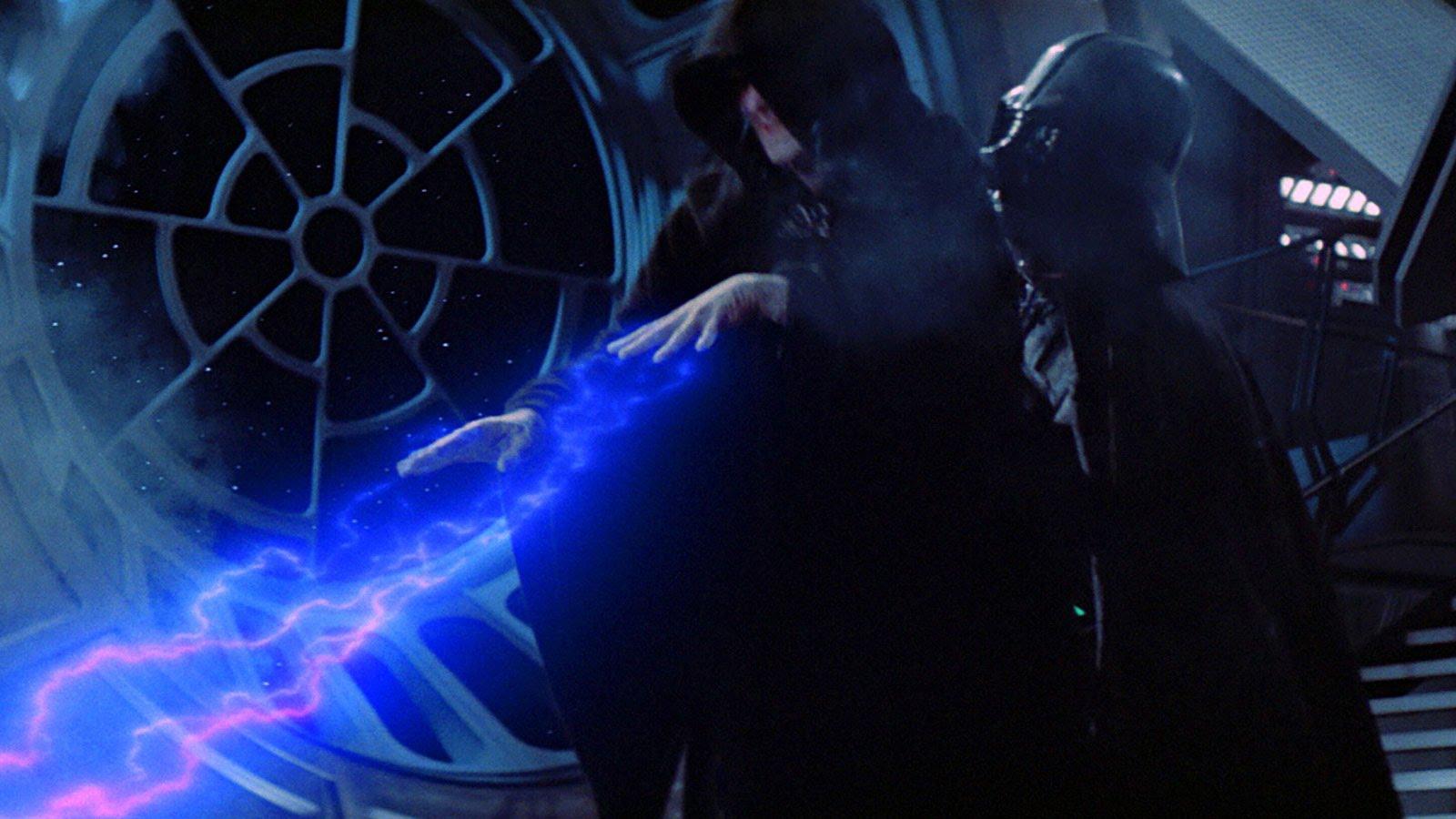 Imperator v filmu vojna zvezd jedijeva vrnitev