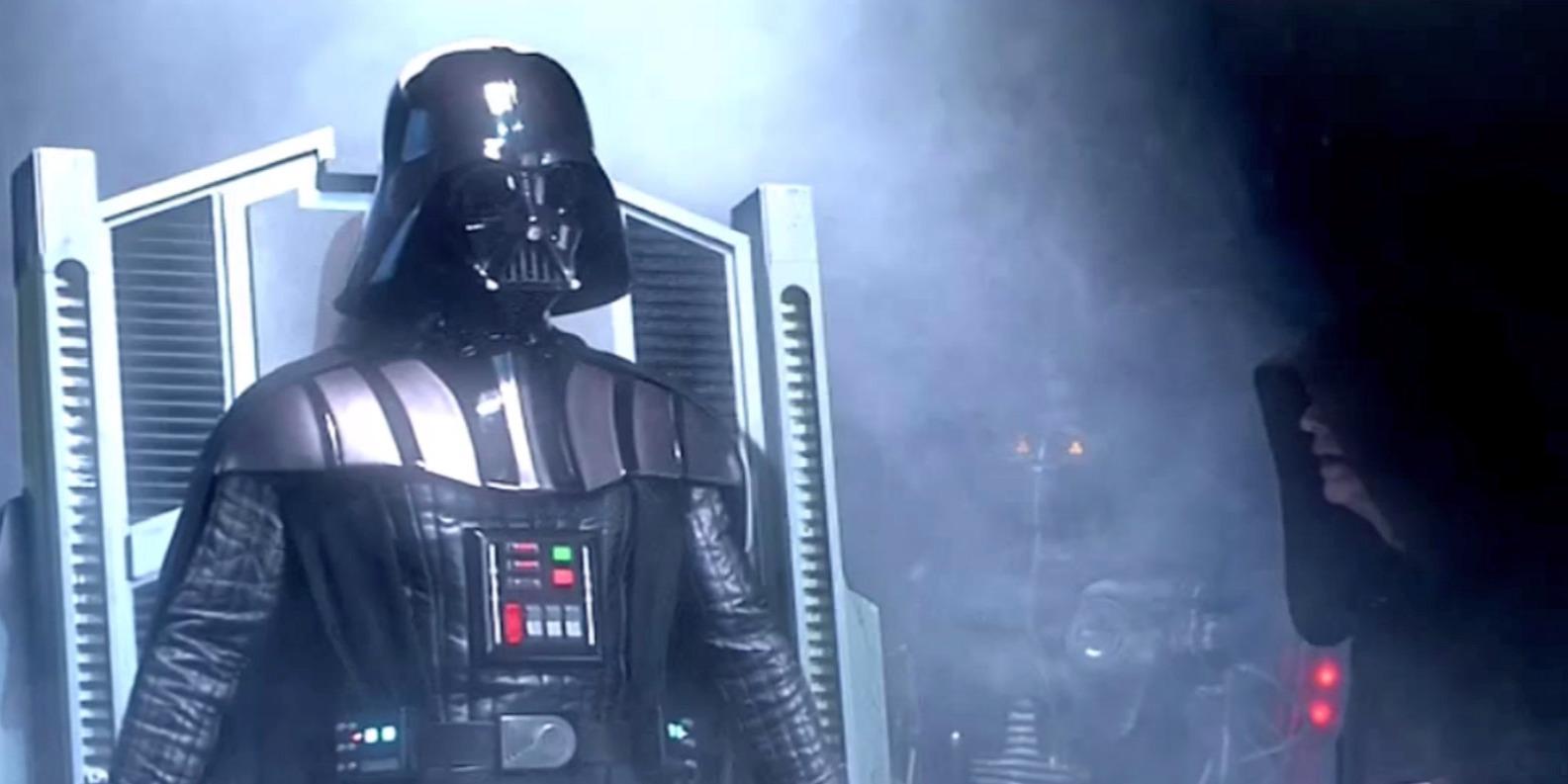 Vstajenje Dartha Vaderja v filmu Vojna zvezd maščevanje sitha (star wars revange of the sith)