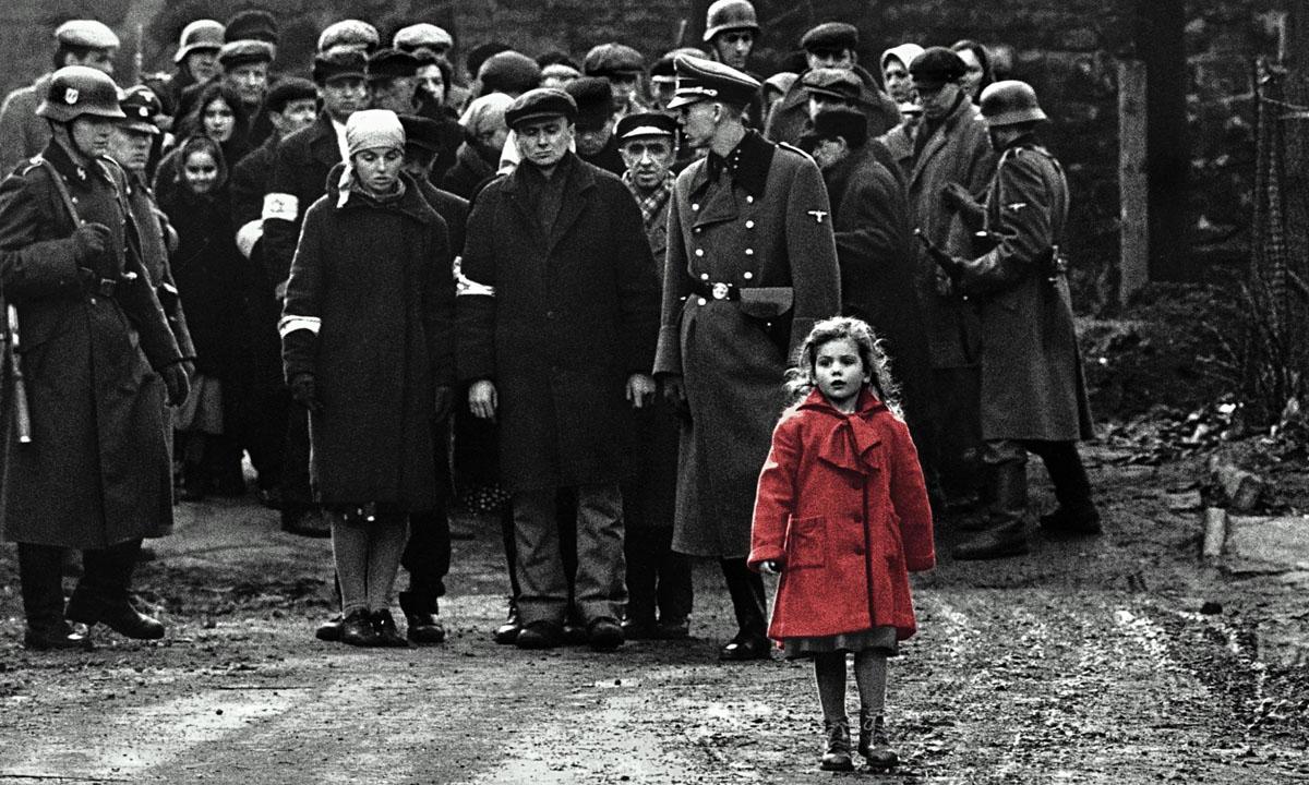 Scena iz filma Schindlerjev seznam