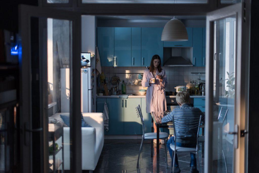 Scena iz filma Brez ljubezni.