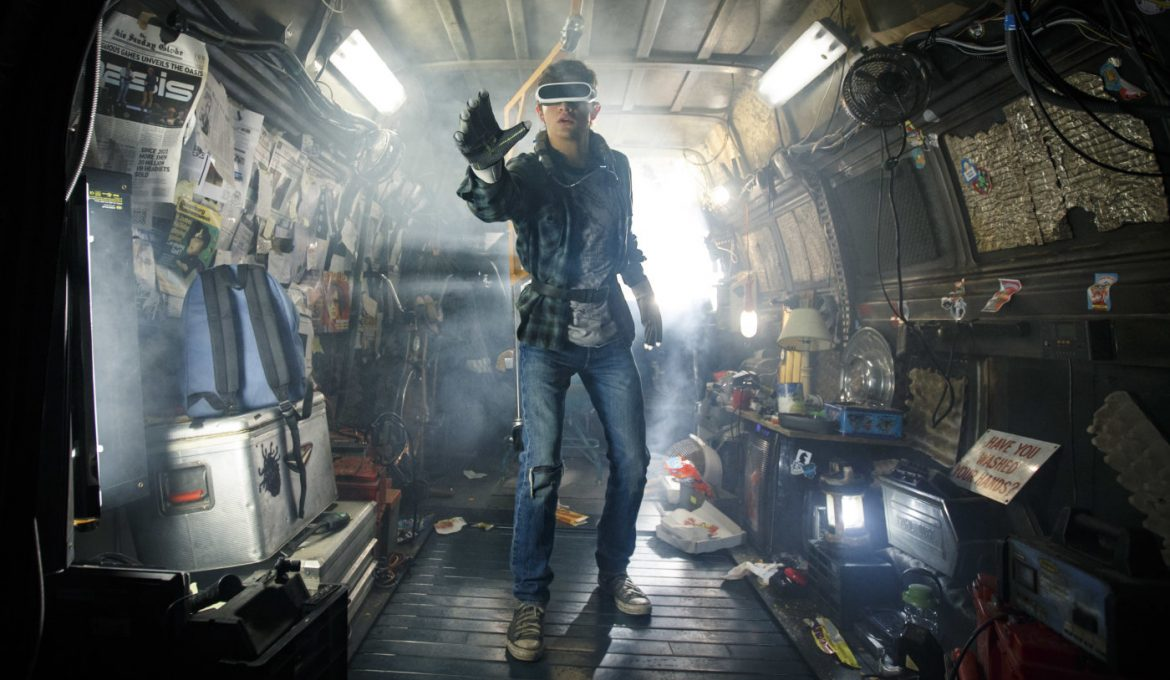Scena iz filma Igralec št. 1 (REady Player One).