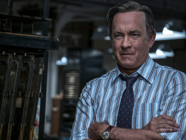 Tom Hanks v filmu Zamolčani dokumenti (The Post).