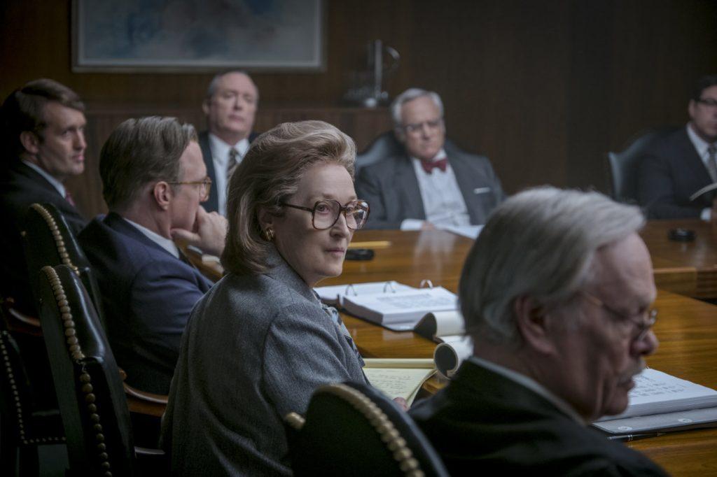 Meryl Streep v filmu Zamolčani dokumenti.