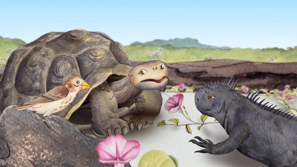 Scena iz filma Ljubezen galapške želve.