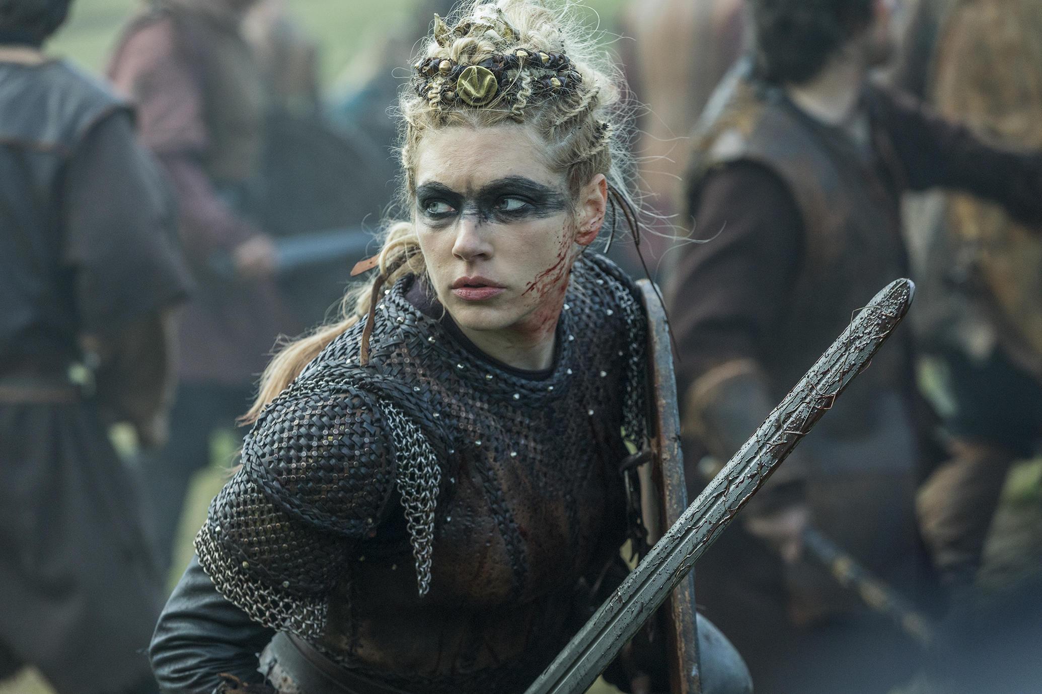 katheryn winnick kot Lagertha v seriji vikingi (vikings)