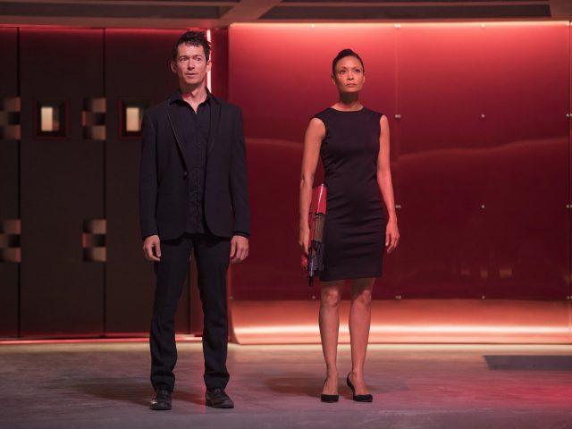 Scena iz serije Westworld.