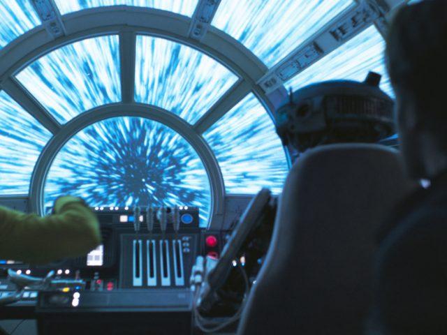 Scena iz filma Solo: Zgodba Vojne zvezd