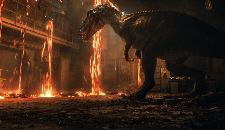 Scena iz filma Jurski svet: Padlo kraljestvo (Jurassic World: Fallen Kingdom)