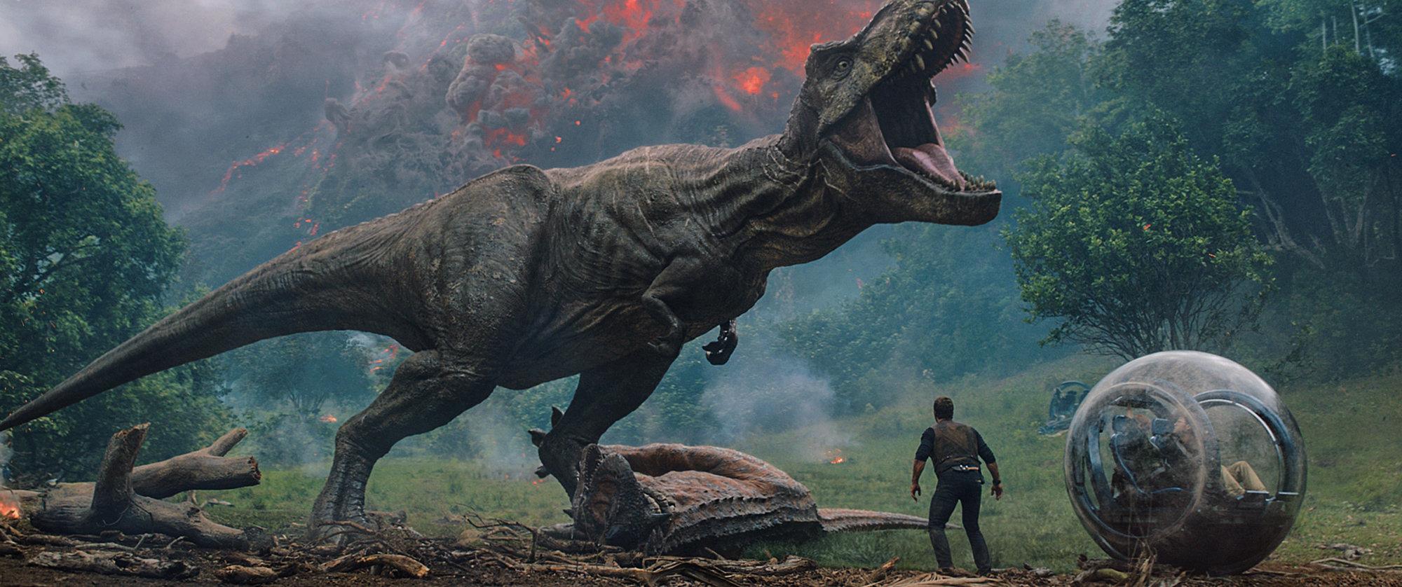 Scena iz filma Jurski park: Padlo kraljestvo (Jurassic Park: Fallen Kingdom)