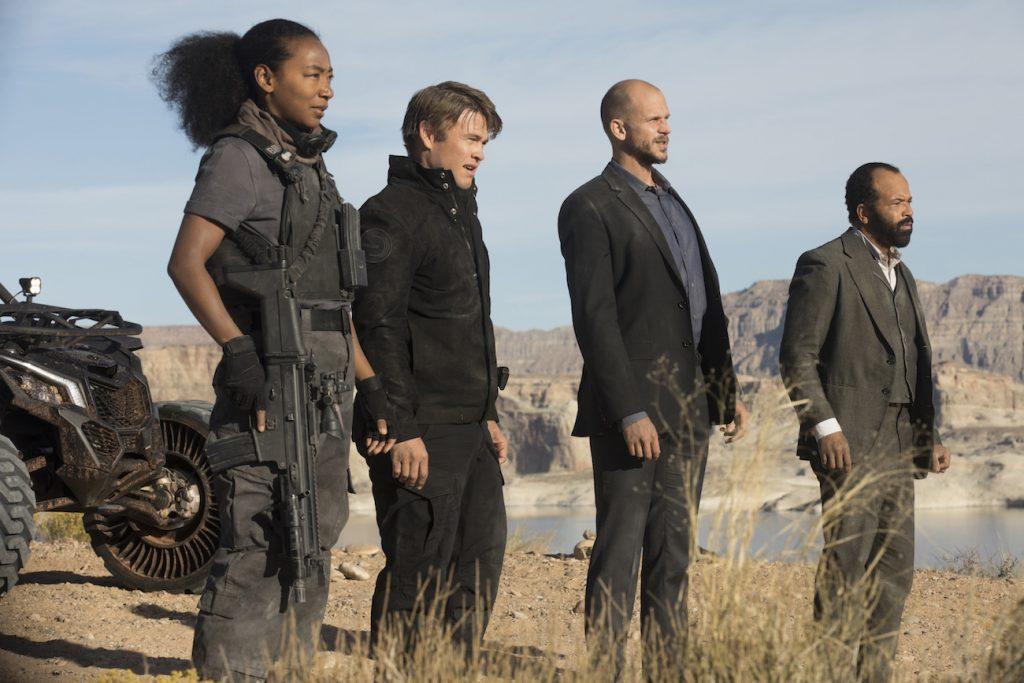 Scena iz druge sezone serije Westworld.