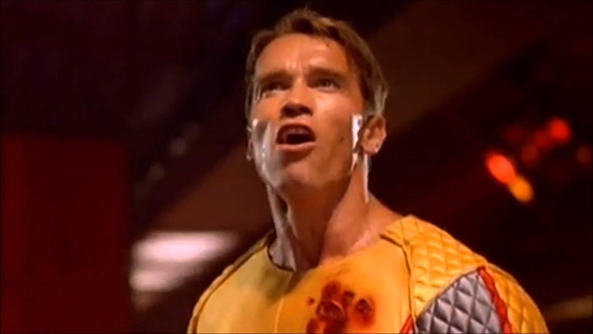 Arnold Schwarzenegger v filmu Running Man
