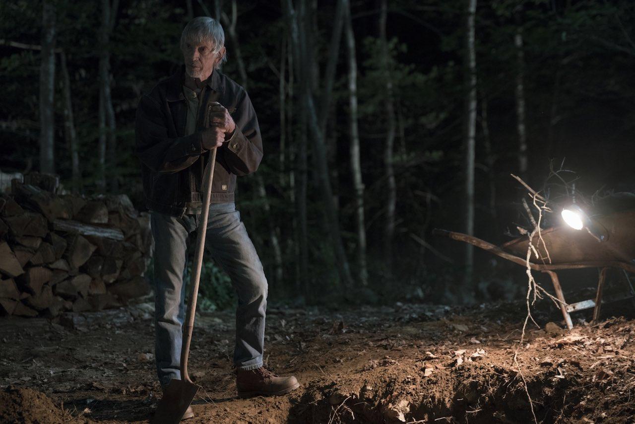 Scott Glenn kot šerif Pangorne v seriji Castle Rock
