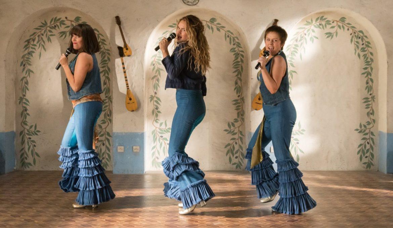Lily James v filmu Mamma Mia! Gremo še enkrat.