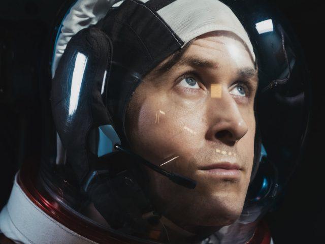 Ryan Gosling v filmu Prvi človek (First Man)