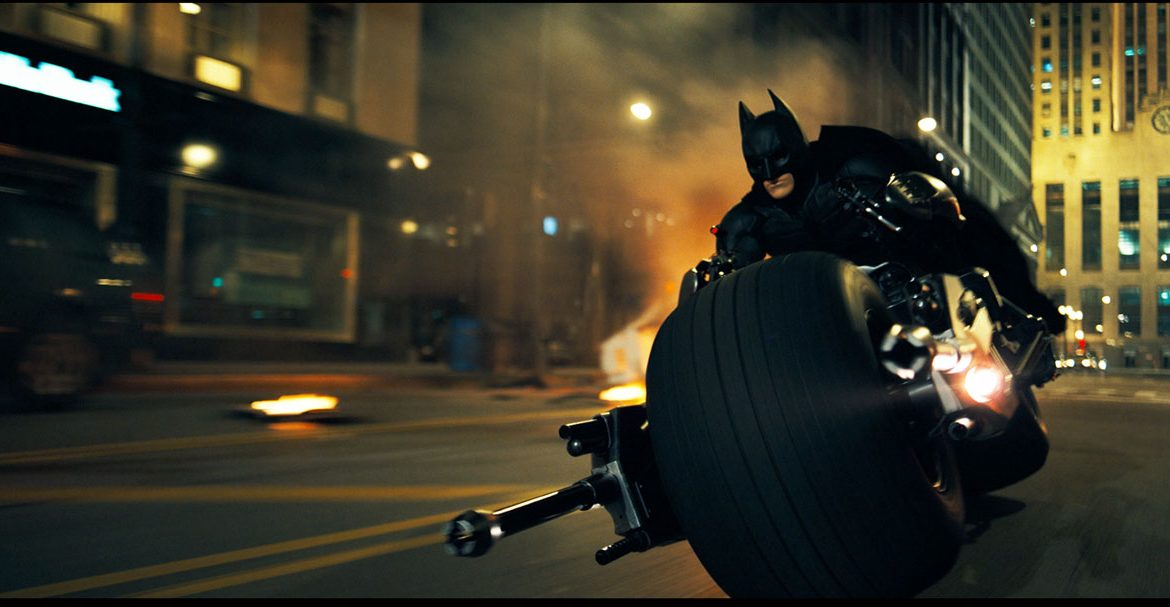 The Dark Knight Vitez teme Batman