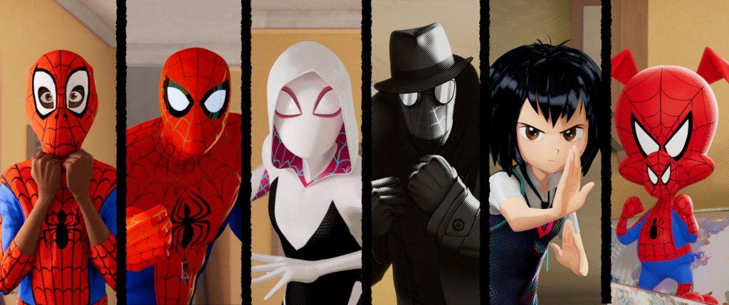 Vse različice Spider-Mana v filmu Spider-man: novi svet