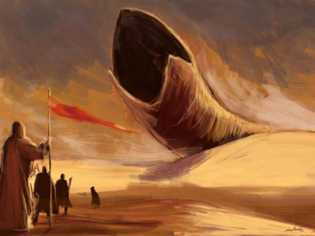 Peščeni črv in Fremeni v Peščenem planetu