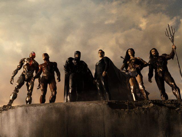 Scena iz filma Liga pravičnih Zacka Snyderja