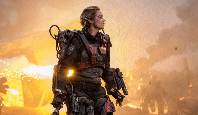 Emily Blunt v filmu Na robu jutrišnjega dne (Edge of Tomorrow)